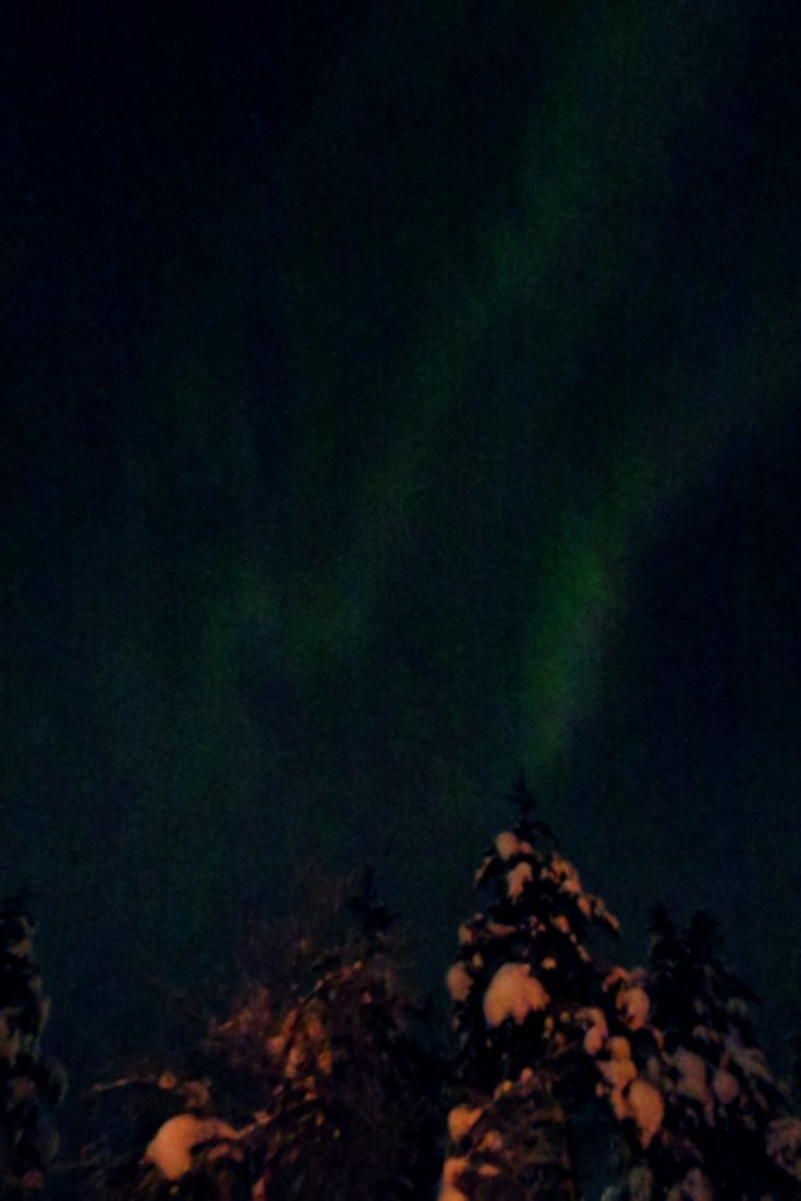 Northern lights at Kakslauttanen