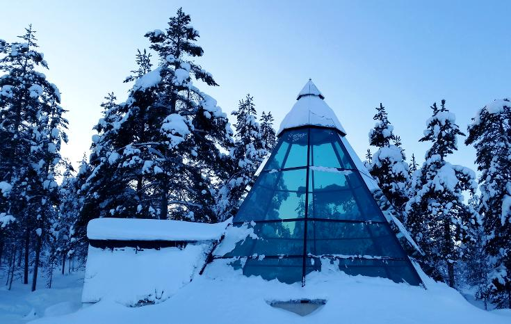 Glass chapel, Finland