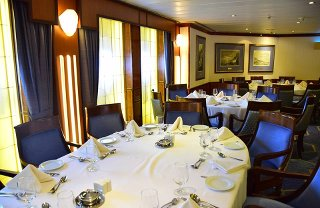 Cruise Dining by Meg Jerrard