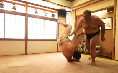 Tokyo: The day I fought a Sumo
