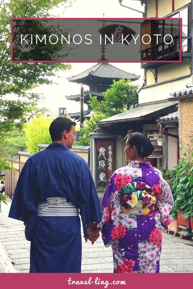 Kimono love in Kyoto