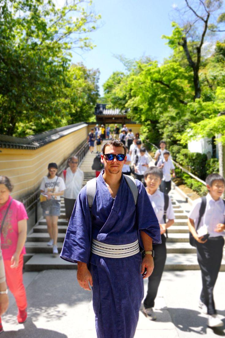 Kimono rental in Kyoto, Japan
