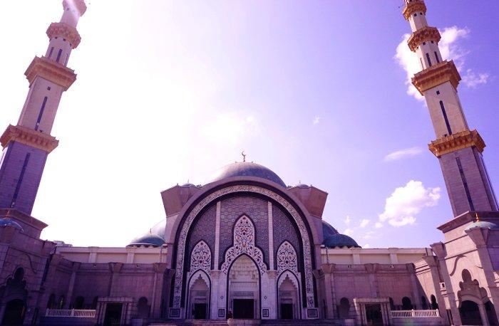 Federal Territory Mosque, Kuala Lumpur, Malaysia