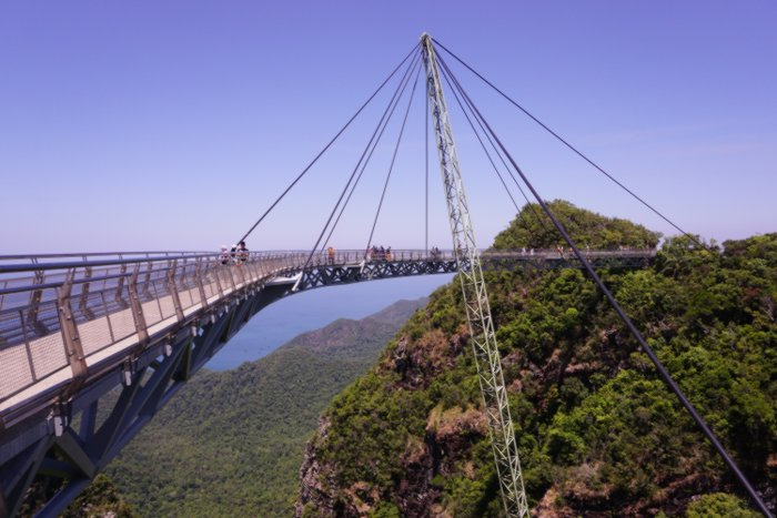 Amazing views from Langkawi's SkyBridge, Malaysia