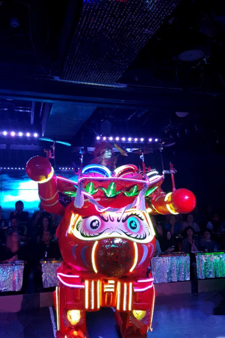 Robot Restaurant performances, Tokyo, Japan