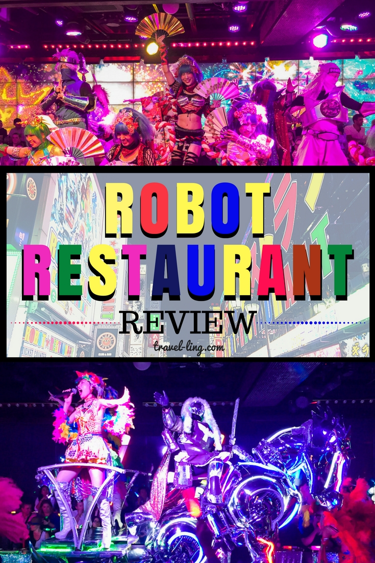 Robot Restaurant Tokyo review