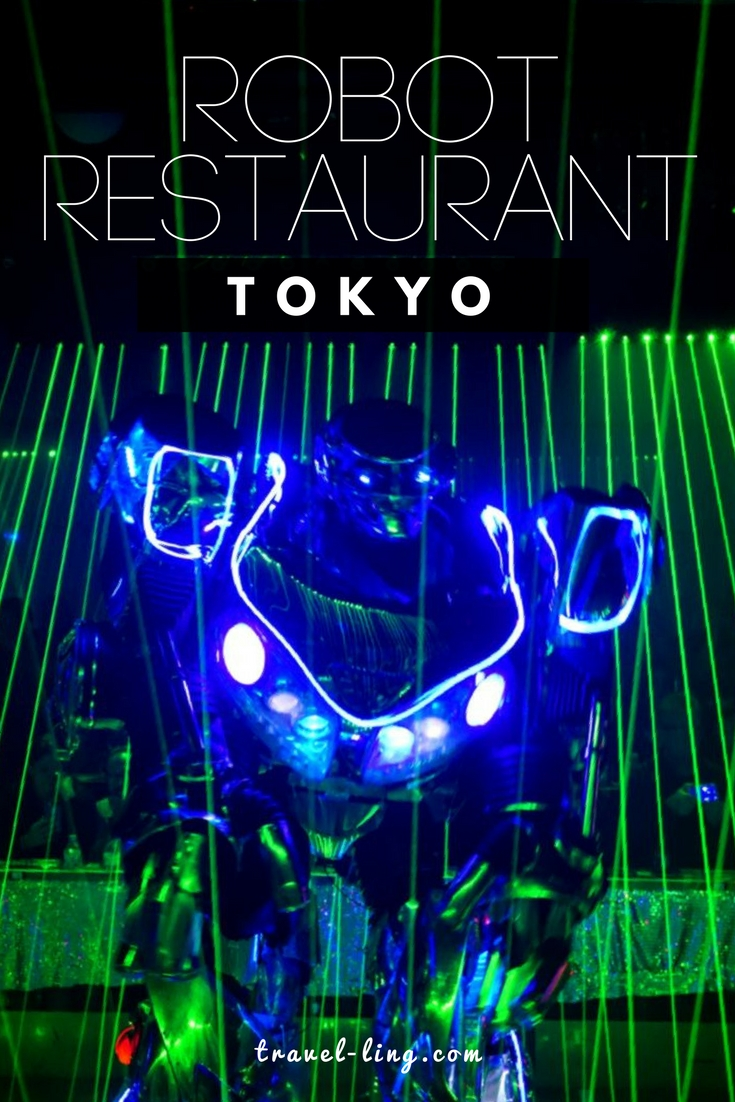 Robot Restaurant is a must-see in Tokyo, Japan