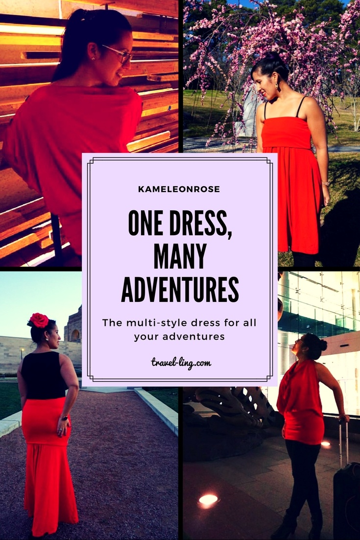 The Ultimate Travel Dress looks