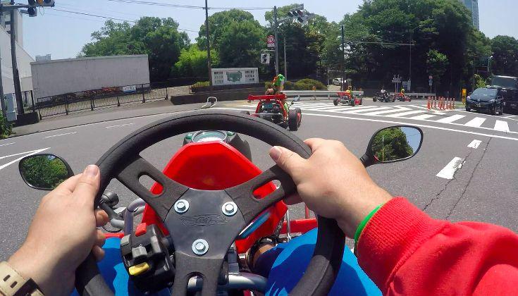 MariCar in Tokyo, Japan