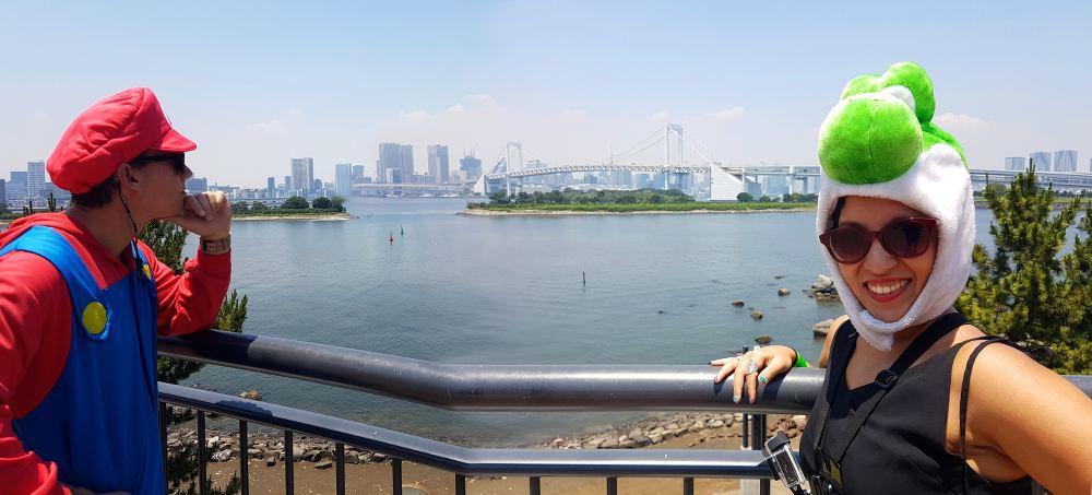 MariCar's Pitt stop in Tokyo
