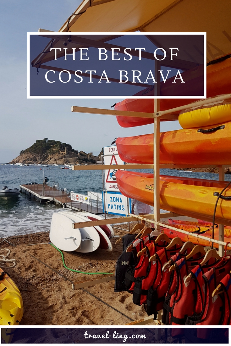 Kayaking is a great way to see Costa Brava