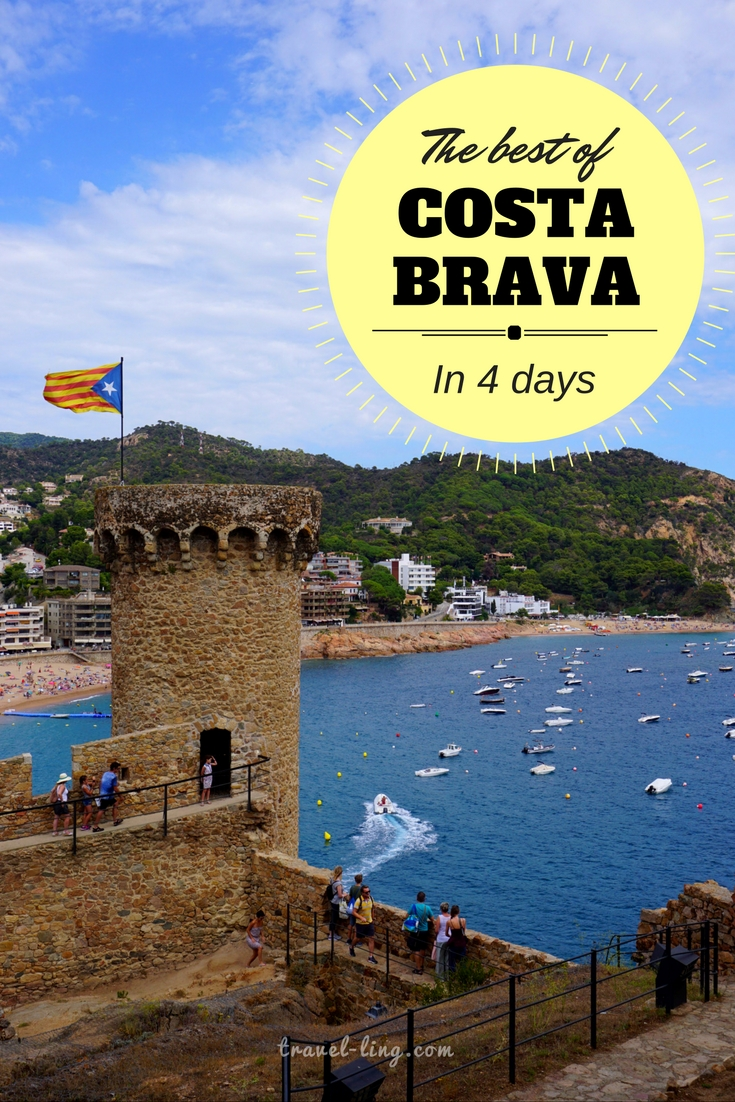 Tossa de Mar is a must see in Costa Brava