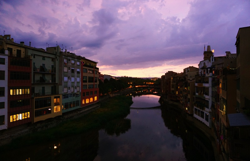 Girona is picturesque at any time of day