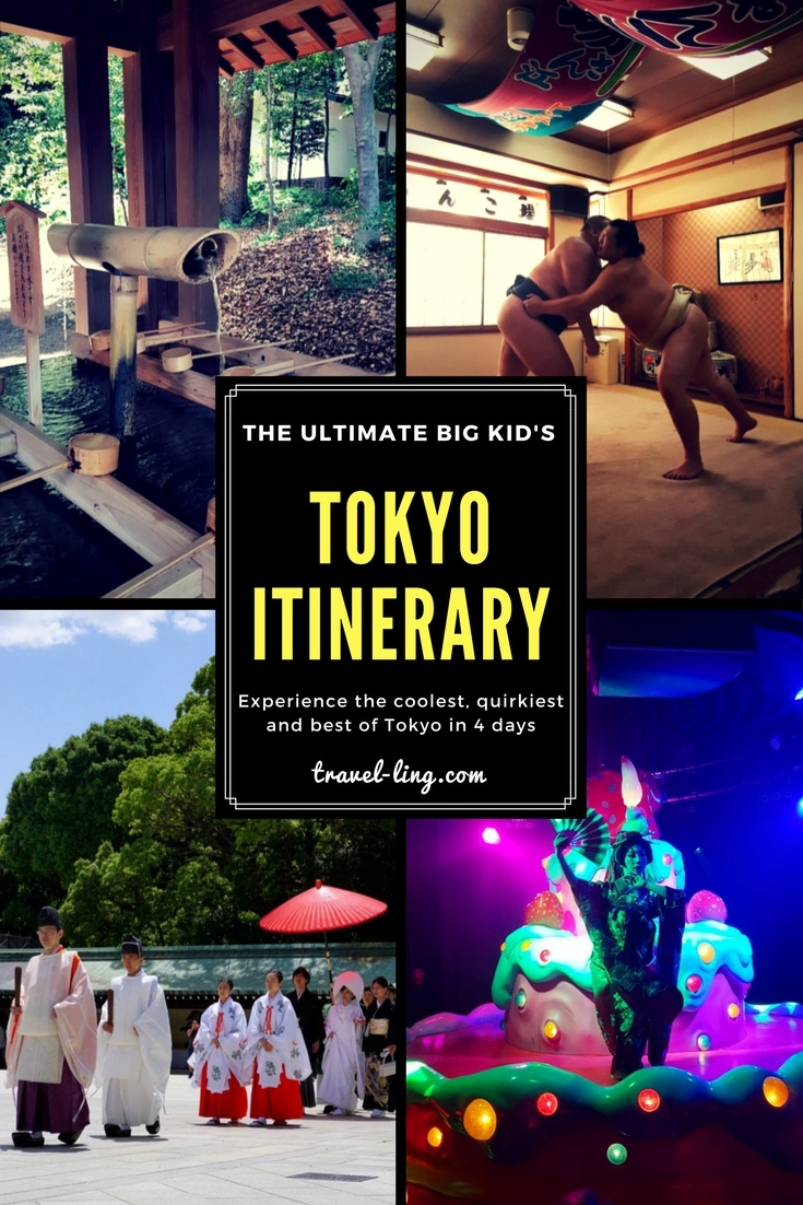 The Ultimate Tokyo Itinerary