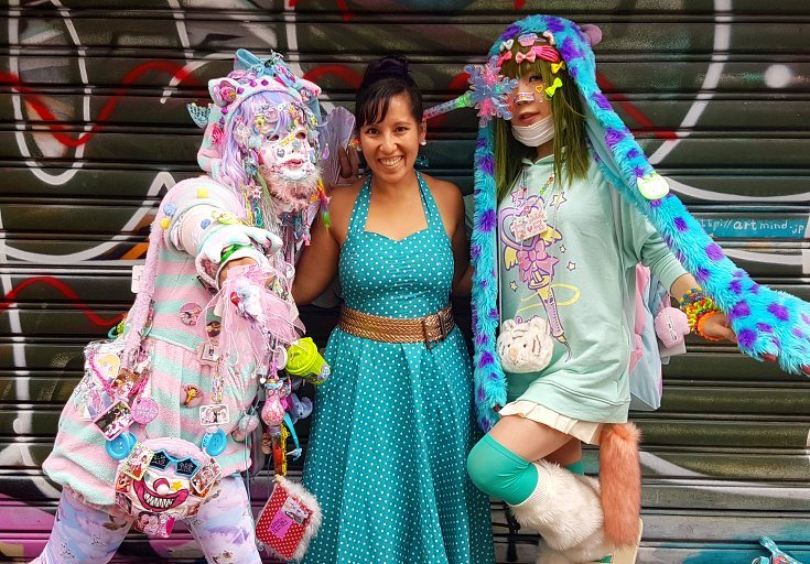 The weird and wonderful Harajuku, Tokyo