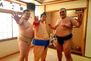 Fight a sumo in Tokyo